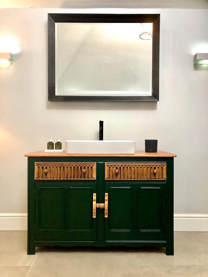 Vanity Unit with basin and tap